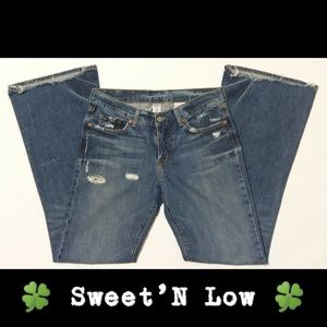 🆕 🍀LB🍀 | Sweet'N Low Distressed Flare Jeans GUC